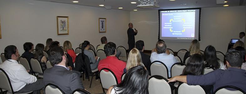 Palestra para empresas - Dr. Paulo Grimaldi